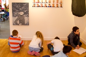 Pupils drawing what they observed