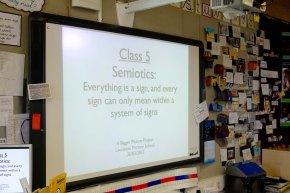 Semiotics: a long title, but it can still be fun!